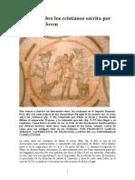 La carta sobre los cristianos escrita por Plinio el Joven.doc