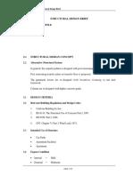 Structural Design Brief
