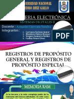 Registros de Propósito General y Registros de Propósito Especial Final