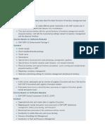 SAP Study Ref