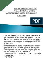 Diapositivas de Procedimientos Mercantiles