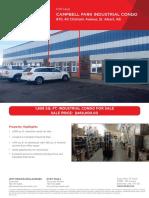 Campbell Park Industrial Condo Brochure (1) ListingID24567