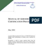 ICAO_Manual of Certification Procedures