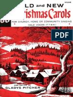 30 Old New Christmas Carols-TTBB