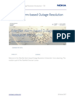 Alarm-based Outage Resolution Introduction