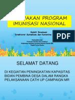 Kebijakan Program Imunisasi & Kampanye Introduksi MR