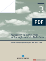 Mantener Autonomia Alzheimer