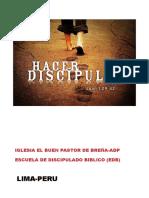 PROYECTO DISCIPULADO BIBLICO