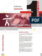 WISH Front Office Software Brochure