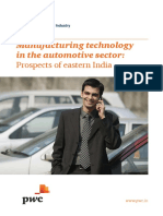 Manufacturing Technology in the Automotive Sector Prospects of Eastern India