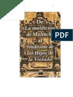 De la Maldición de Malinche al Síndrome de los Hijos de la Violada Ensayo sobre la Identidad
