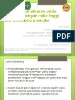 ppt Aspirin versus plasebo pada kehamilan dengan risiko tinggi edit 1.pptx