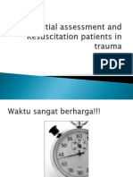Initial Assessment and Resuscitation Patients in Trauma