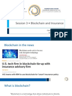 Blockchainand Insurance