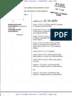 Indictment of Pedro Leonardo Mascheroni and Marjorie Roxby Mascheroni