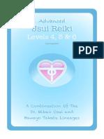 Advanced Usui Reiki for Levels 4 5 & 6
