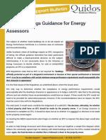 Quidos Listed Buildings Guidance for Energy Assessors v1.1