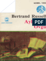 Bertrand Russell - Aylaklığa Övgü