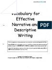 Vocab For Effective Narrative & Descriptive Writing.pdf