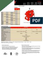 Clarke JU6H Specification Sheet