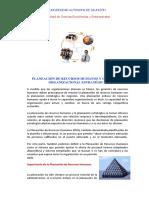 Planeacion de Recursos Humanos y Organizacion Estrategica