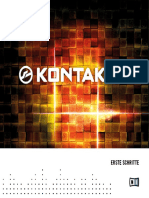 Kontakt 4 Getting Started German