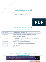 LTE Architecture, Description Et Qualité