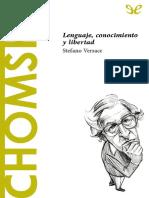 [Descubrir La Filosofia 50] Versace, Stefano - Chomsky. Lenguaje, Conocimiento y Libertad [36602] (r1.2)