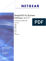Manual - Netgear ReadyNAS Pro 6 RNDP6000 | Ip Address