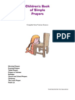 Children's Book of Simple Prayers