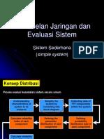 4. Pemodelan Jaringan Dan Evaluasi Sistem Final