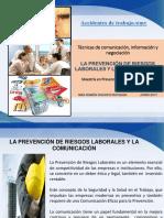 6. Rhr Prevención de Riesgos Laborales y La Comunicación. Junio 2017