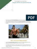Cách Chia Lịch Tập Gym, Thể Hình Cho Gymer Mới Đi Tập