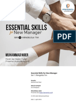 Essential Skills for New Manager Seri 1