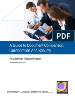 A Guide to Document Comparison, Collaboration And Security