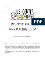 communications strategy report