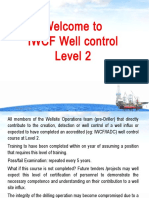 Well Intervention Pressure Control Syllabus - Level 2
