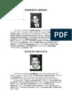 BIOGRAFIAS DE POETAS SALVADOREÑOS