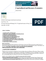 Australian Journal of Agricultural and Resource Economics - Author Guidelines - Wiley Online Library