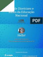 LDB - Parte I - Pedagogia para concursos