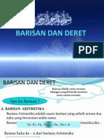 Barisan Dan Deret ( Aritmatika & Geometri)