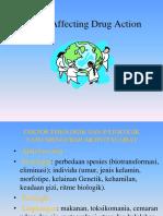 Aktivitas Obat Dan Faktor-Faktorr