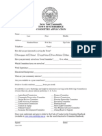 Sturbridge Committee Application & Code of Conduct