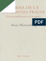 Hans Blumenberg - La Risa de La Muchacha Tracia (Pre-Textos, 2000)