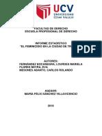 Informe Estadistico Feminicidio Final