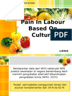 Pain in Labour on Culture