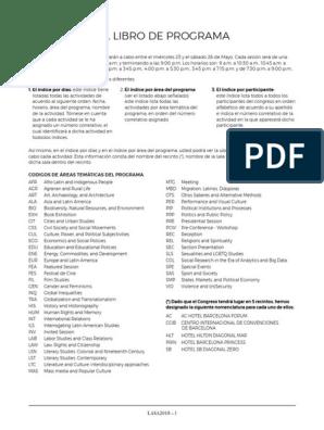 LASA2018ProgramBook MainIndex (1) | México | Política