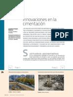 nuevas tecnologias de cimentacion