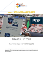 Premier tour de Coupe Gambardella