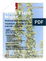 2018 Hops Field Night in Wooster